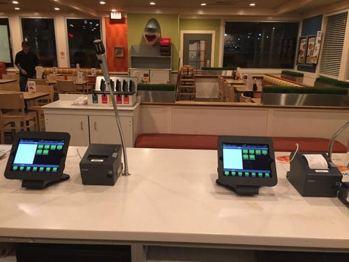 POSLavu iPad POS Install at a Captain D's
