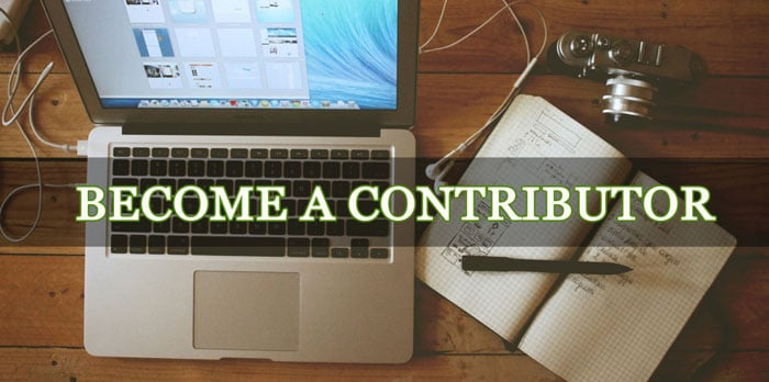 Write For Us - Become a Contributor