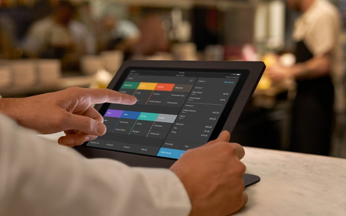 Square Restaurant POS Example