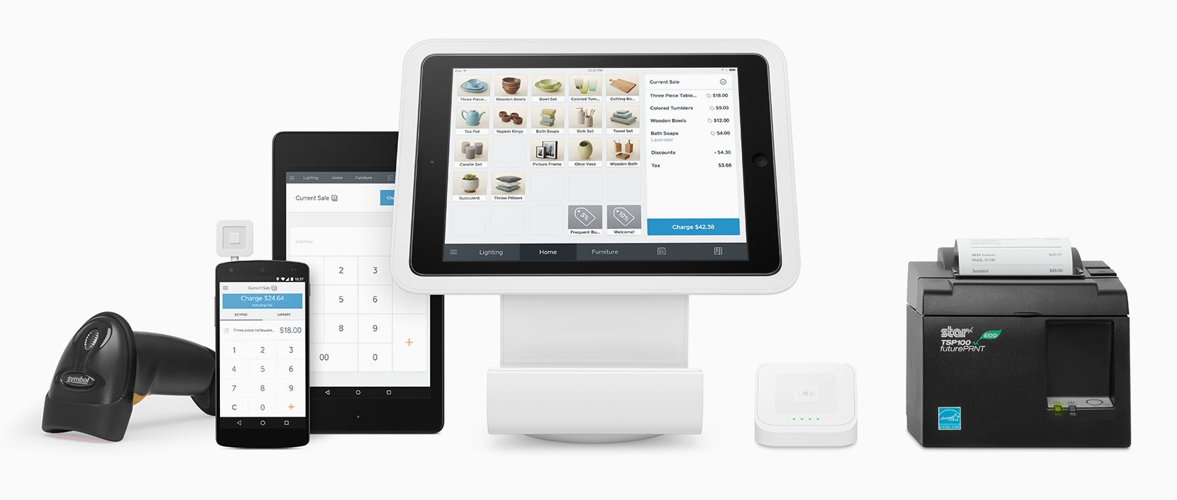 Square Stand POS Hardware