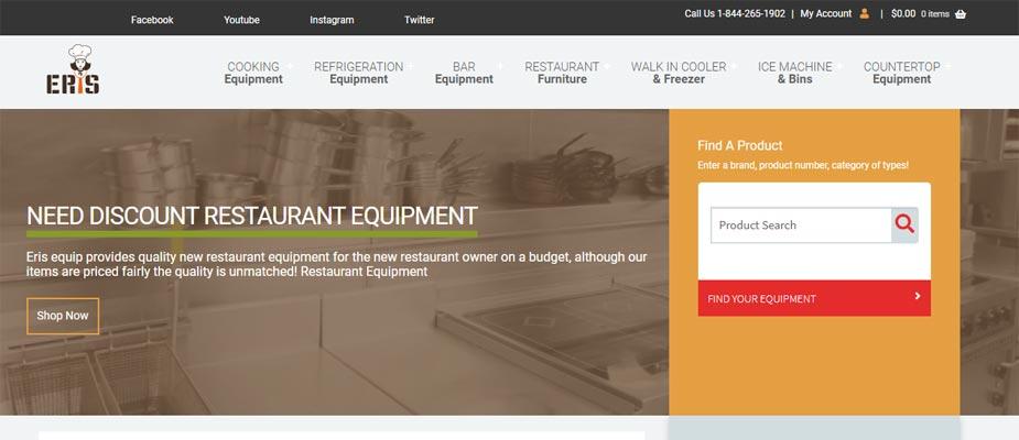 Eris Equip Website