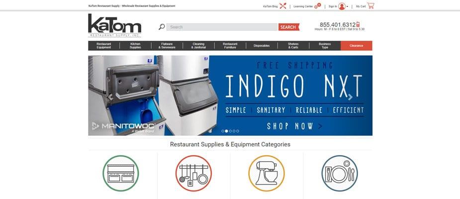Katom Restaurant Supply Online Store
