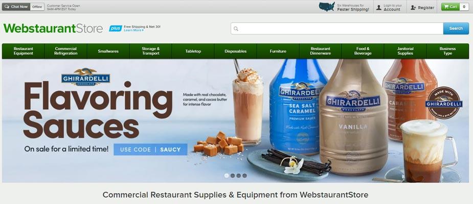 Webstaurant Store Restaurant Equipment