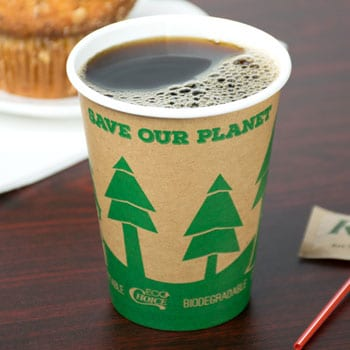 Recycled Coffee Cups for a Restaurant