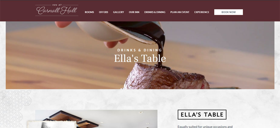 Ella's Table Site Example Arkansas
