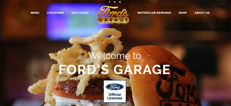 Fords Garage Homepage Dearborn Michigan