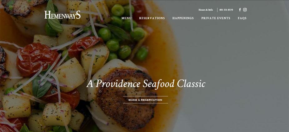 Hemenway's Restaurant Site - Rhode Island