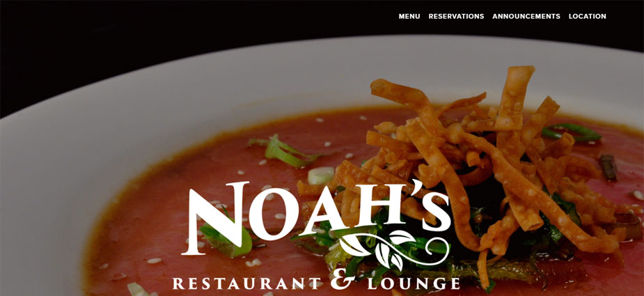 Noah's Restaurant and Lounge Homepage - West Virginia