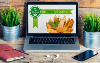 Restaurant Website Design Example
