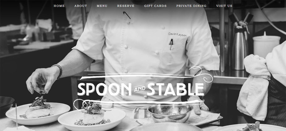 Spoon and Stable Minneapolis Minnesota Web Design