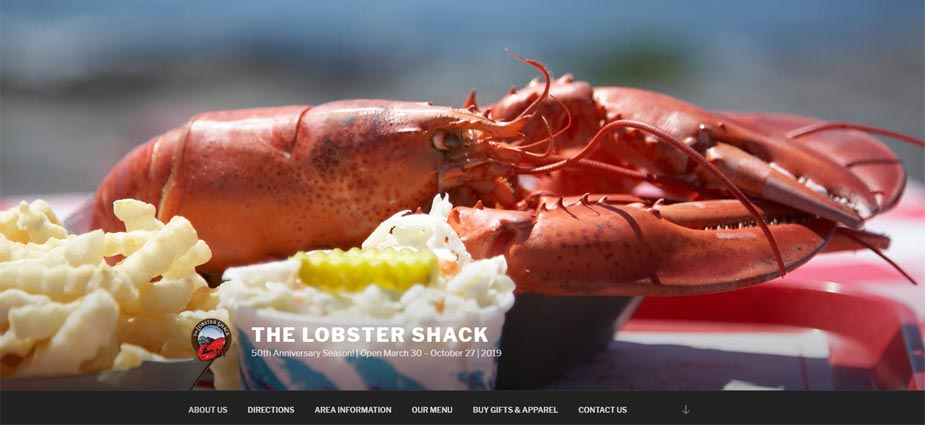 The Lobster Shack Maine Home Page